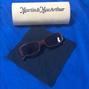 Martin & MacArthur Hawaiian Koa Wood Sunglasses